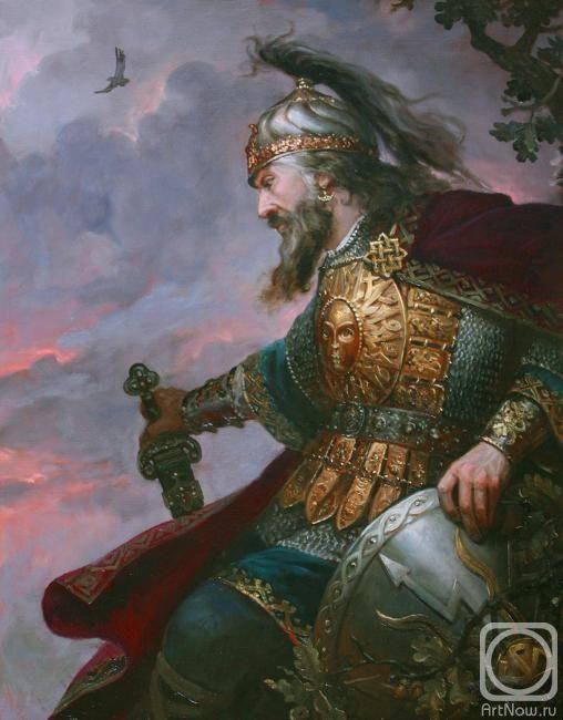 Шишкин Андрей. Перун Громовержец  Древнерусский Бог. Покровитель воинов, охранитель Отчизны. Повелитель грома и молнии..