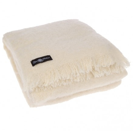 Cape Mohair Mohair Throw in Neutral Available at 5rooms.com