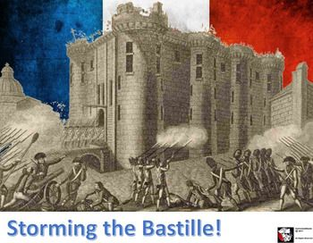 storming of bastille july 14 1789
