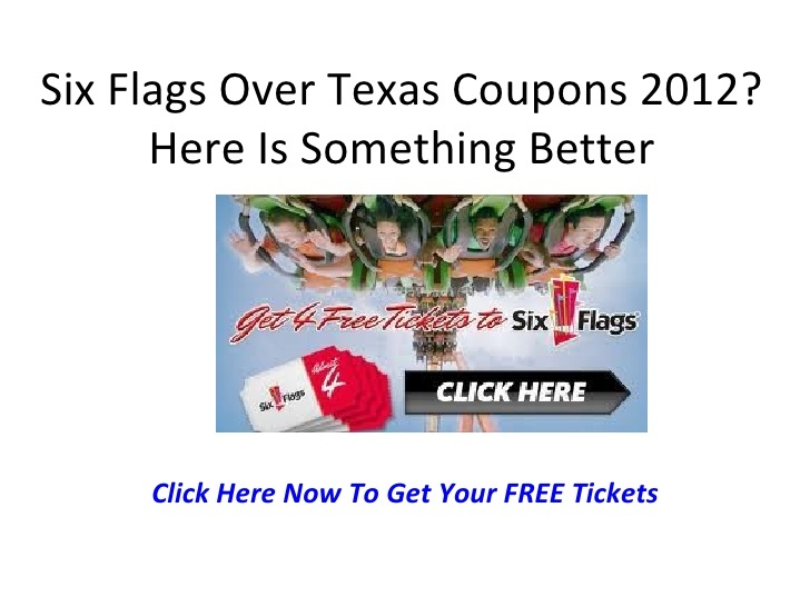 54 best couponing in tx images on pinterest coupon lady extreme six flags over texas coupons 2012 fandeluxe Gallery