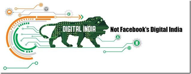 We Support PM Modi's Digital India Vision But Not Facebook's Version Of Digital India & Free Basics.