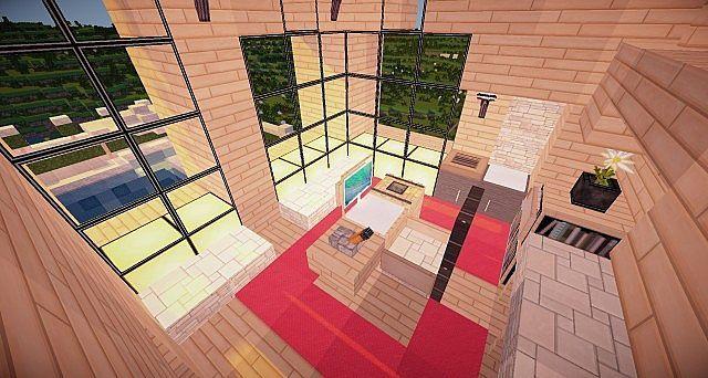 Minecraft Wooden House