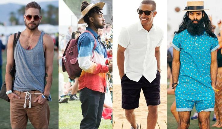 Gentlemen, we've got your backs too! Forget your jeans and tailored trousers and pull out your shorts! Try teaming your shorts with tank tops, printed shirts and flip-flops (you'll want to leave your stylish shoes behind – trust us, you don't want to be walking around with a ton of sand taking permanent residence in your shoes!)