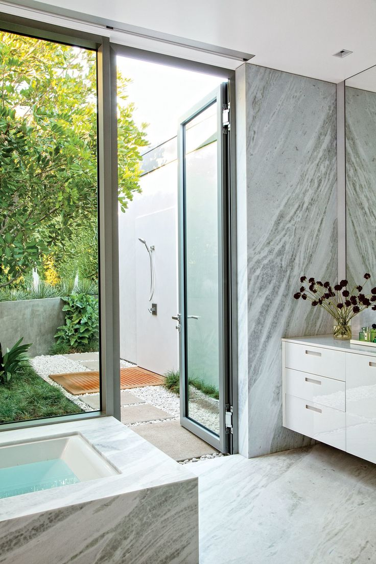 outdoor bathroom vent cover%0A    Inspiring Outdoor Shower Ideas for Every Style