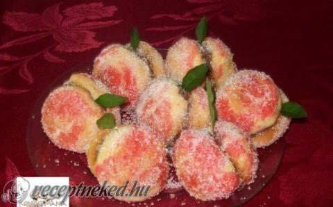Őszibarack süti recept fotóval