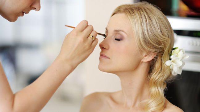 Make-up für Blondinen