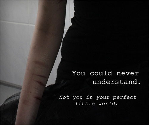 Sad Quotes About Cutting: 364 Best Images About Self Harm/ Depression/ Suicide