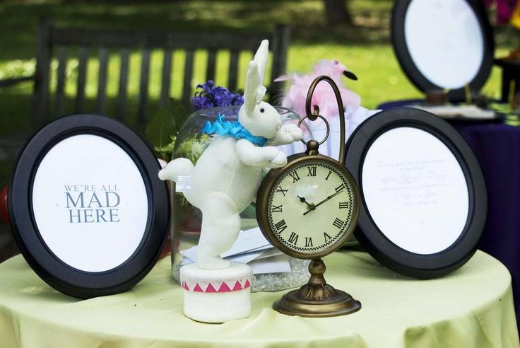 Bridal Shower - Alice in Wonderland Theme