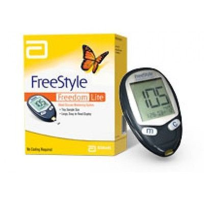 how to use freestyle freedom lite blood glucose monitoring system