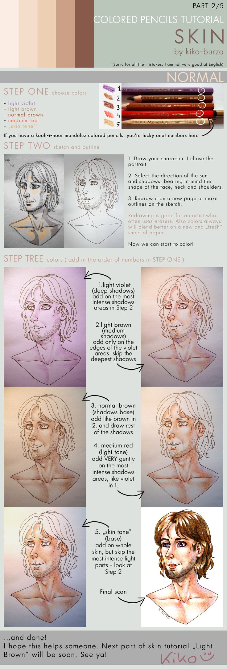 100 best Colored Pencil Tutorials images on Pinterest | Colored ...
