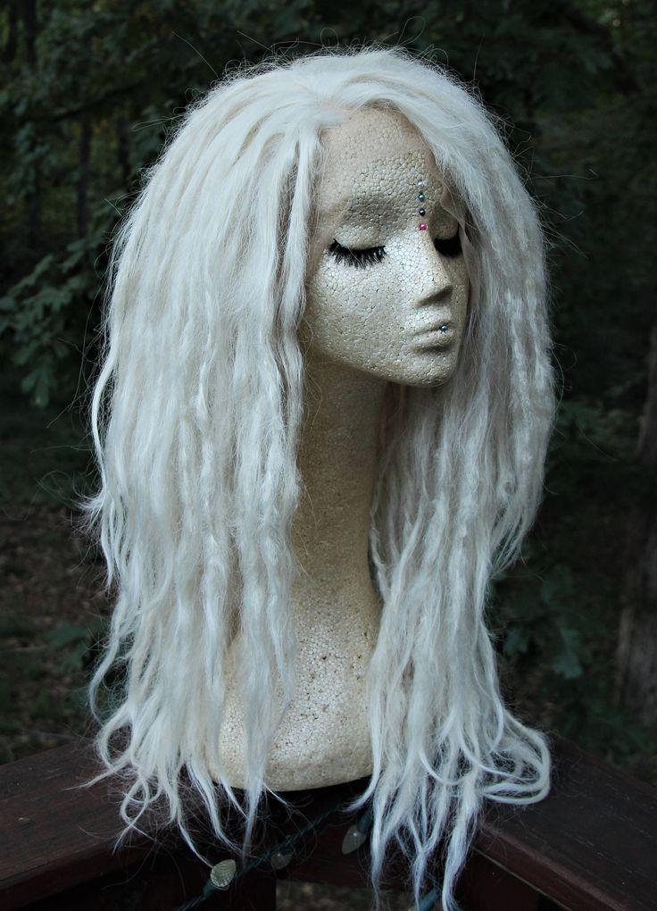 White blonde lace front dreadlock wig  Etsy.com/shop/SisterSarahsShop