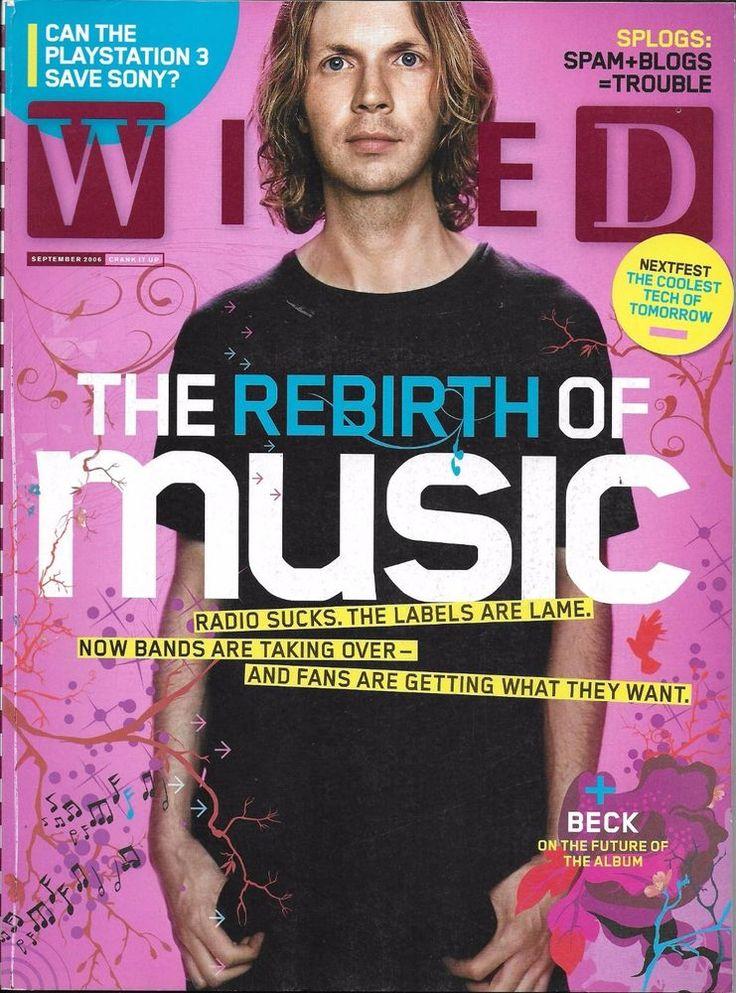 Wired magazine Rebirth of music Beck Playstation Splogs Pitchfork Storm center