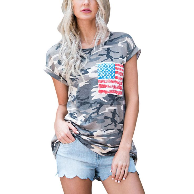 Now selling: 2017 Summer Women Short Sleeve Camouflage T Shirts USA All Day http://www.autasticshop.com/products/2017-summer-women-short-sleeve-camouflage-t-shirts-womens-o-neck-military-army-cotton-tops-t-shirt-with-pocket-tops-and-tee?utm_campaign=crowdfire&utm_content=crowdfire&utm_medium=social&utm_source=pinterest