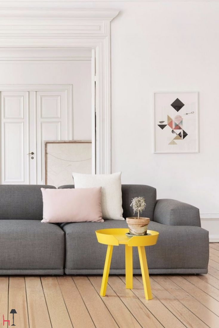 Around coffee table by Muuto is a modern and functional home furnishing piece.