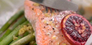 orange ginger salmon ginger salmon easter recipes seafood dishes ...
