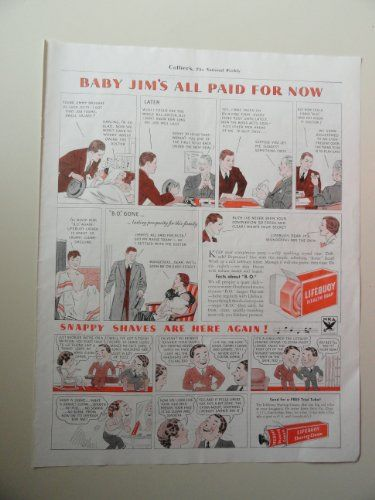 Lifebuoy Health Soap, 30's Print Ad. Color Illustration (... https://www.amazon.com/dp/B00CVIO0KK/ref=cm_sw_r_pi_dp_x_M7bVybFWV1V47