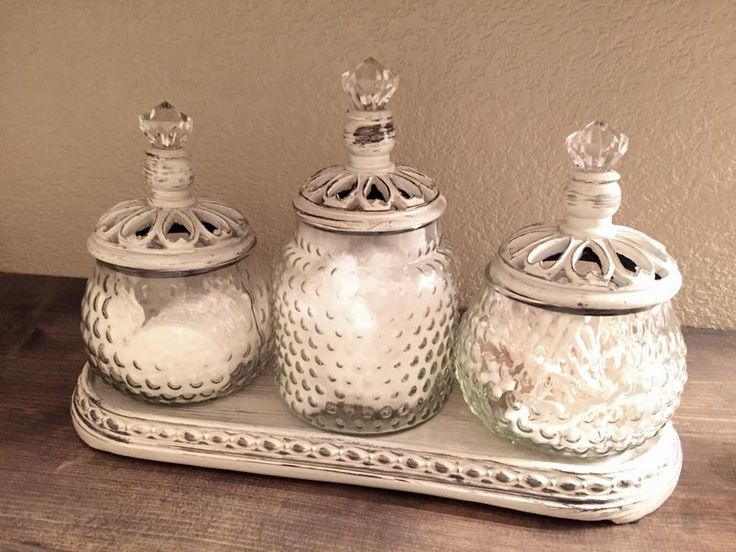 Bathroom Apothecary Jar Ideas Filling Up The