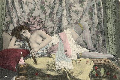 opium den (original title but I think this is vintage erotica)