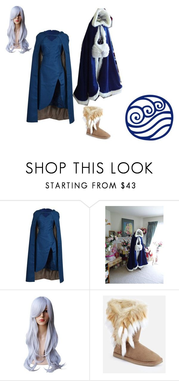 """Water tribe girl"" by pintch-me-i-punch-you ❤ liked on Polyvore featuring JustFab"