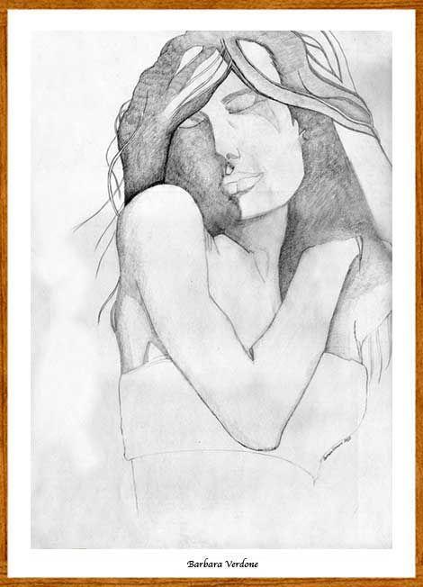 dal sito  d'Arte di Renzo Verdone nella pagina della Bottega Verdone...un disegno a matita di Barbara Verdone