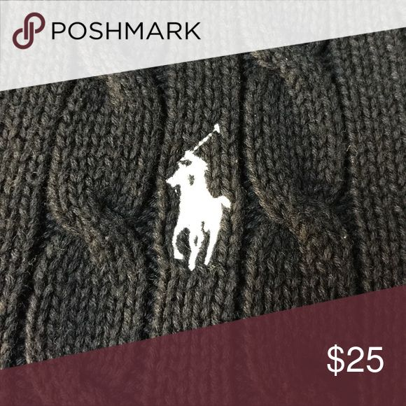 1 Day SALE - Black RL Sweater! Pre-loved and in excellent condition. Ralph Lauren Sweaters V-Necks