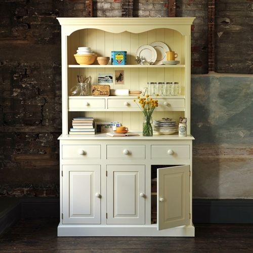 Bourton Painted 4ft Pine Welsh Dresser (M223) with Free Delivery | The Cotswold Company - 228-P