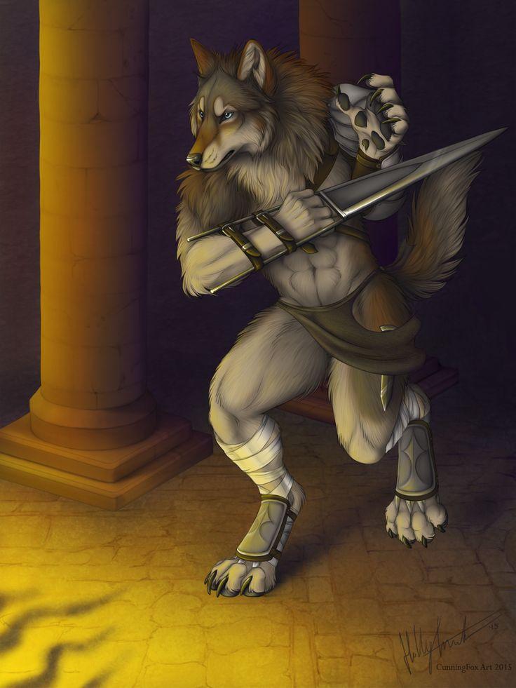Lycanthrope Warrior by CunningFox.deviantart.com on @DeviantArt