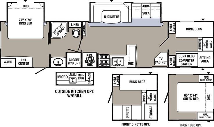 Another Great Floor Plan Palomino Rv Manufacturer Of