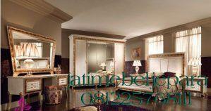Set Tempat Tidur Klasik Mewah Glamor