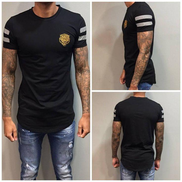 Black Lion Long T-shirt www.dopedfashion.nl/en #kenzo #longshirt #tshirt #dope #urban #street #fashion #mode