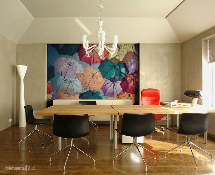 Umbrellas wallpaper by Fototapeta4u.pl