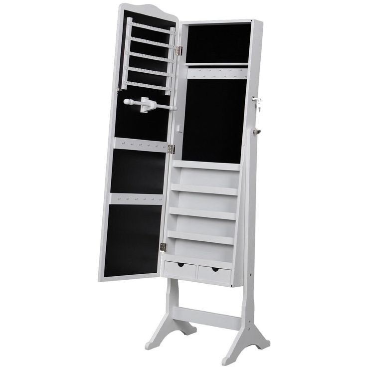1000 id es propos de armoire bijoux sur pinterest for Miroir rangement bijoux casa