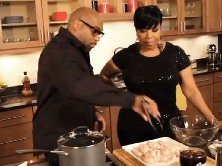 G. Garvin shares his Coca-Cola BBQ Wings recipe with Shirley Strawberry of the Steve Harvey Morning Show. | chefgarvin.com