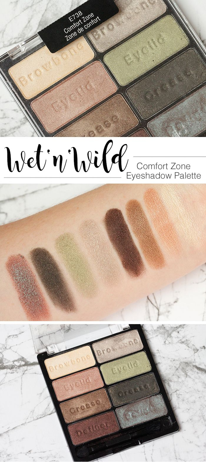 5 reasons why I love the Wet'n'Wild Comfort Zone Eyeshadow Palette