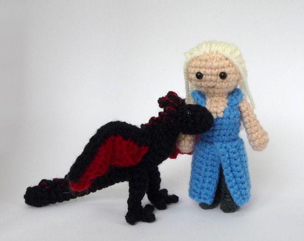 Game of Thrones Amigurumi: Daenerys (Dany) Targaryen ...