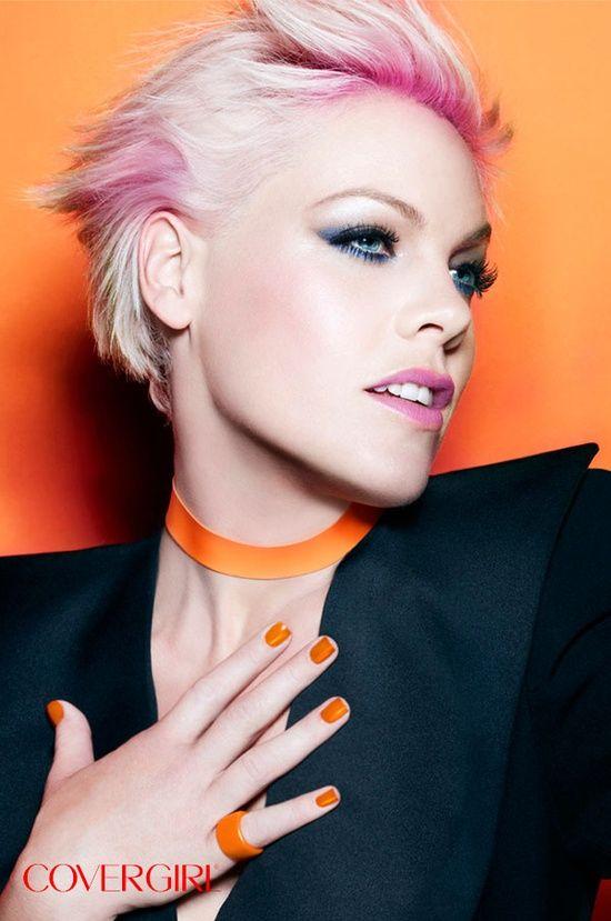 Easy, Breezy, Beautiful Covergirl! Gotta love Pink!