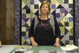 """Make the Alter Ego Quilt Using Layer Cakes! Super easy! You can use 5"""" charm squares for the 4 patch. You will still use 10"""" squares for the Hourglass blocks."""