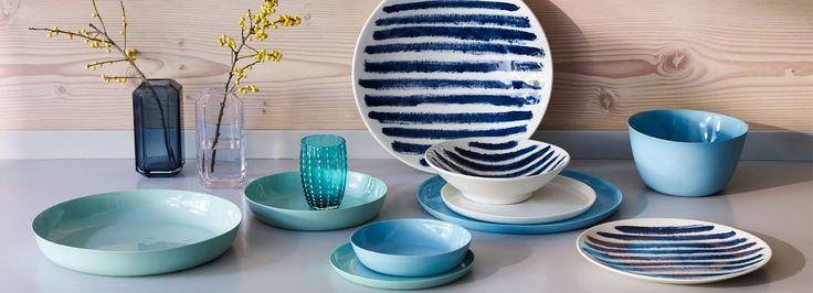 Porcelain Dinnerware Turquoise