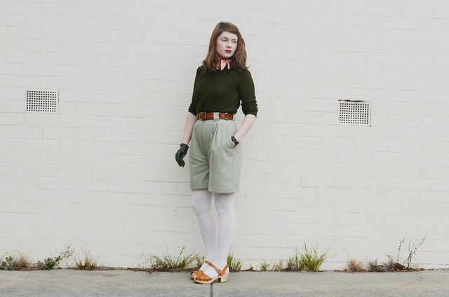 olive-heart-gloves-shorts d by night.owl, via Flickr