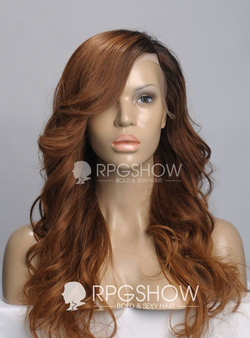 Stock Ombre Color Full Lace Wig - Wavy - NW009-s [NW009] - $326.99 : Full Lace Wigs|Lace Front Wigs|Lace Wigs @ RPGSHOW