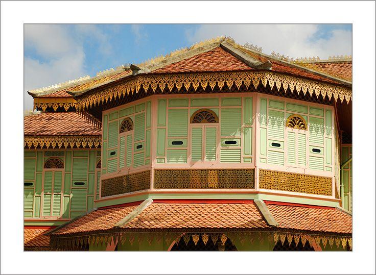 Classic Malay architecture - Kota Bharu, Kelantan. #malaysia