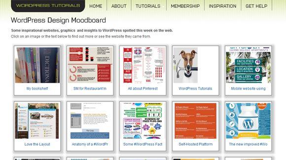 Moodboard on my website:  Website