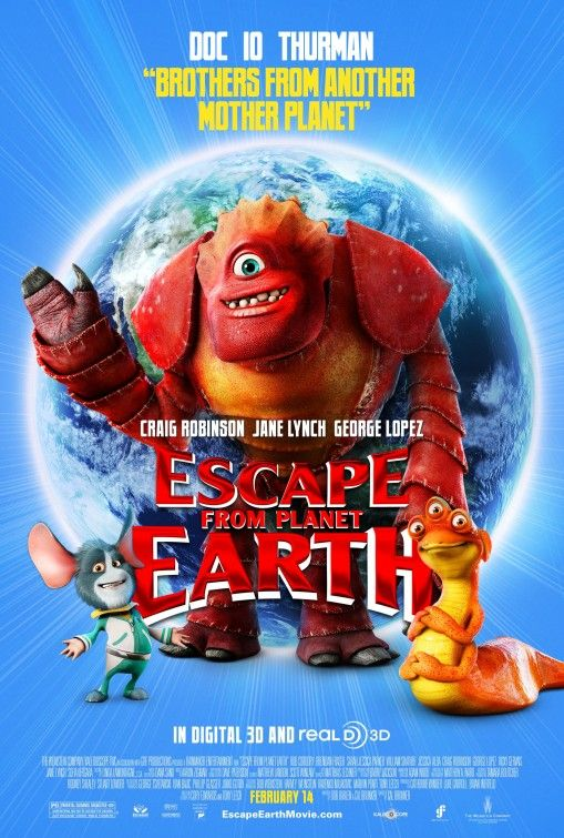 Click to View Extra Large Poster Image for Escape from Planet Earth