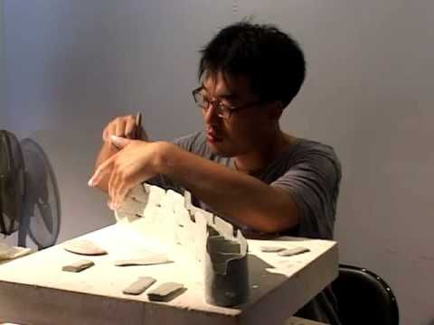 ▶ Workshop of Taiwan Ceramics Biennale 2008 by Chun-Bok LEE - YouTube
