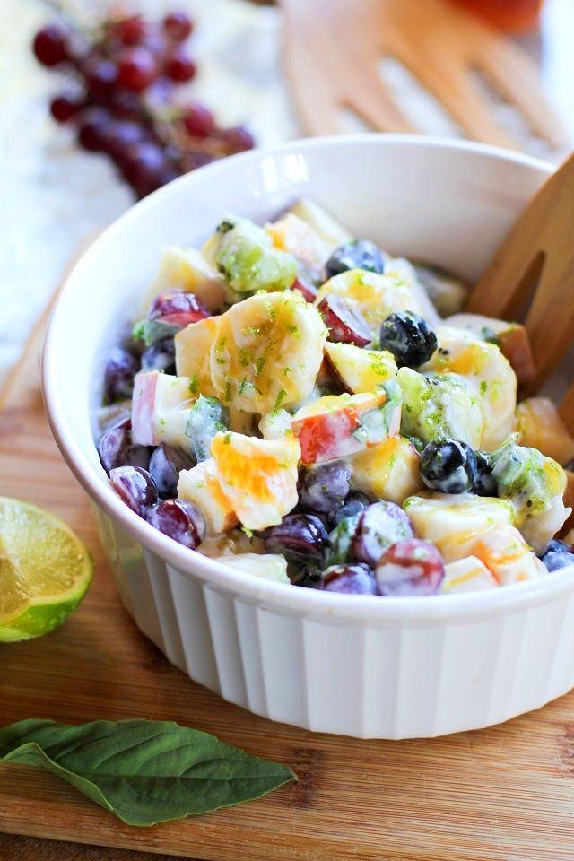 Comer ensaladas de frutas ayuda al rejuvenecimiento de la piel!!!! #Chic