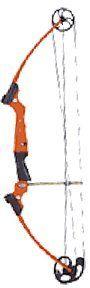 Genesis Bow Kit, Left Handed, Orange