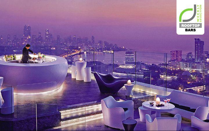 ROOFTOP BARS! Aer bar and lounge at Four Seasons Hotel, Mumbai hotels and restaurants