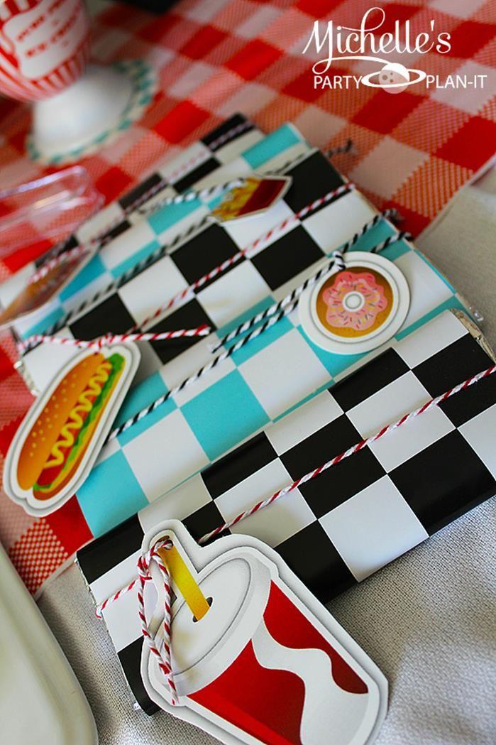1950's Diner Party via Kara's Party Ideas