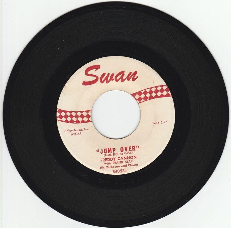 1960      JUMP  OVER   -   FREDDY  CANNON #RocknRoll