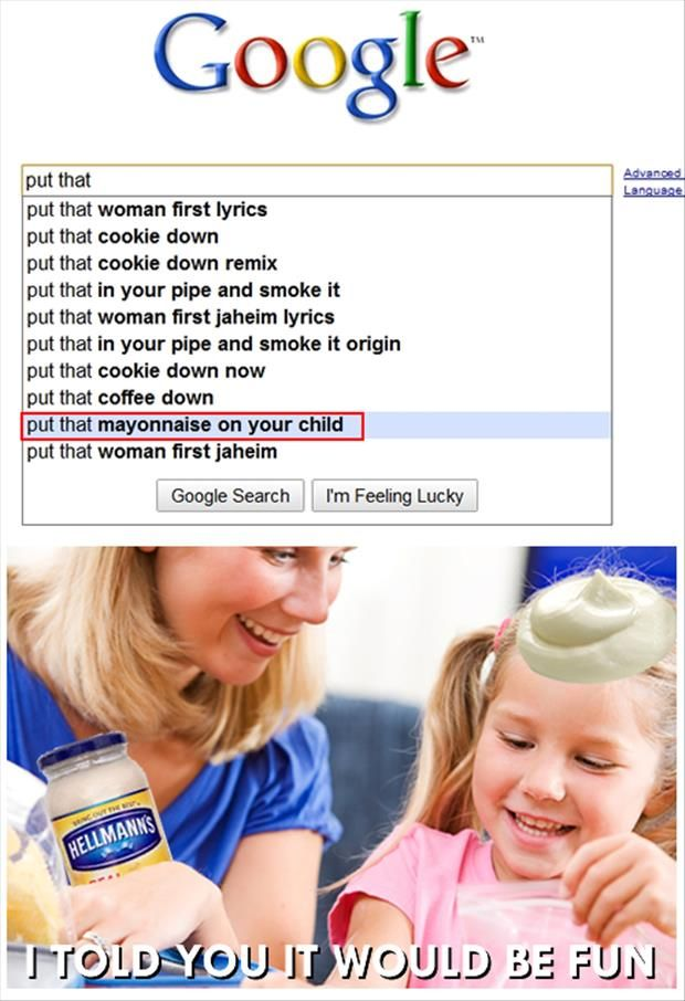 Top Ten Funny Google Searches